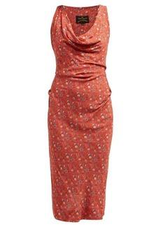 Vivienne Westwood Anglomania Virginia floral-print jersey dress