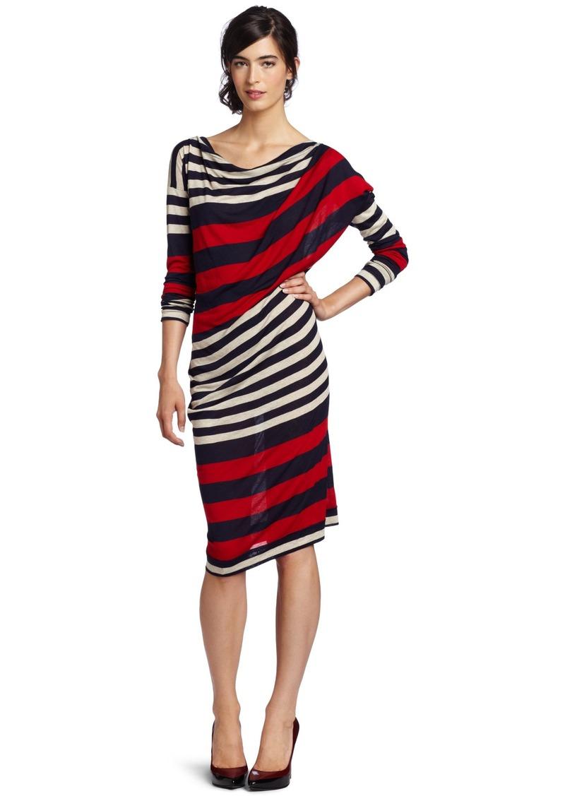 Vivienne Westwood Anglomania Women's Toga Drape Dress