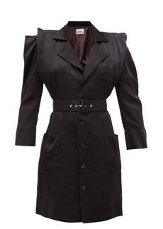 Vivienne Westwood Cath belted satin dress
