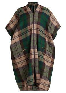 Vivienne Westwood Checked tweed coat