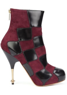 Vivienne Westwood 'Drama' patch boots - Black