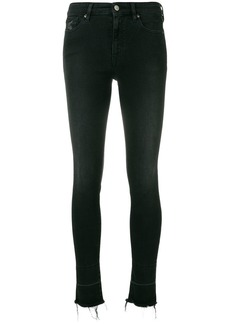 Vivienne Westwood Anglomania dropped cuff skinny jeans - Black