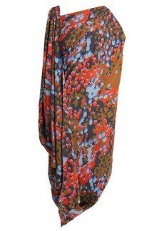 Vivienne Westwood Fetzen camouflage-print toga dress