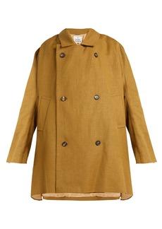 Vivienne Westwood Gabelle hemp trench coat