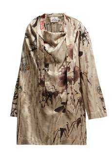 Vivienne Westwood Garret Chinese-jacquard blouse