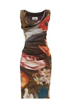 Vivienne Westwood Ginnie floral-print satin dress