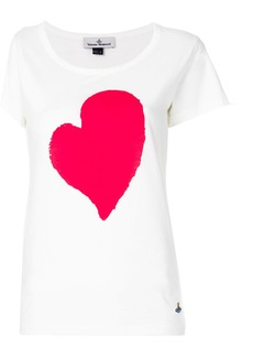 Vivienne Westwood Anglomania heart T-shirt - White