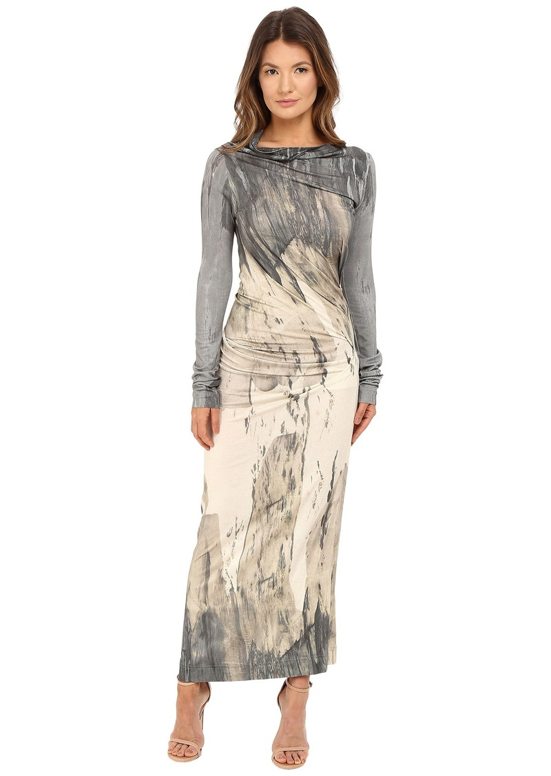 Vivienne Westwood Vivienne Westwood Long Sleeve Maxi Taxa Dress ... 9d491c778