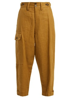 Vivienne Westwood Military hemp trousers