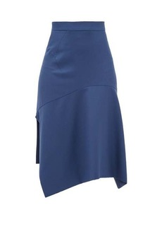 Vivienne Westwood Phoenix bias-cut virgin-wool skirt