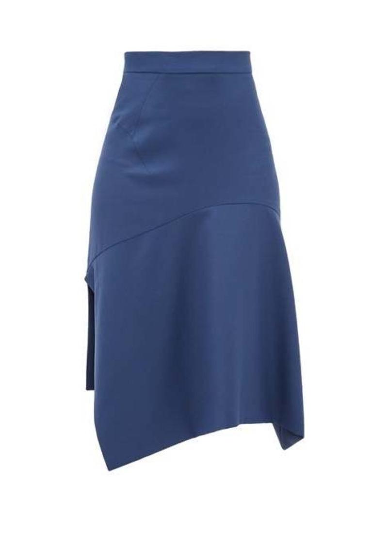 Vivienne Westwood Phoenix bias-cut virgin-wool skirt