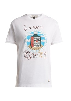 Vivienne Westwood Printed cotton-jersey T-shirt