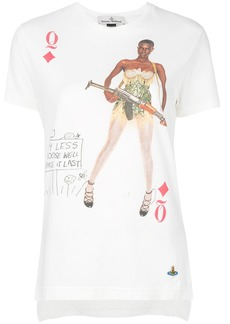 Vivienne Westwood Anglomania printed T-shirt - White