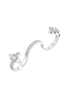 Vivienne Westwood Reina Three Ring Finger