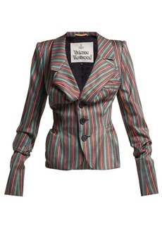 Vivienne Westwood Striped sateen jacket