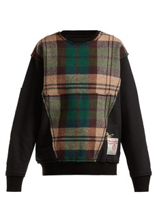 Vivienne Westwood X Harris Tweed organic cotton sweatshirt
