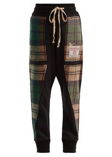 Vivienne Westwood X Harris Tweed organic cotton track pants
