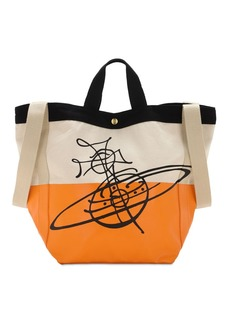 Vivienne Westwood Worker Runner Cotton Tote Bag