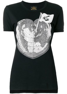 Vivienne Westwood World Heart print T-shirt