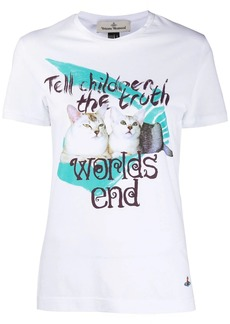 Vivienne Westwood Worlds End printed T-shirt