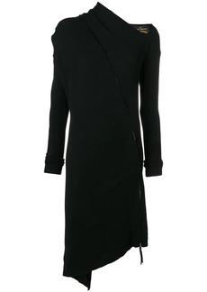 Vivienne Westwood zipped asymmetric dress