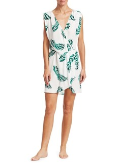 Vix Aloe Gisele Caftan Floral Dress