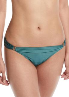 Vix Bia Solid Full Swim Bikini Bottom  Green