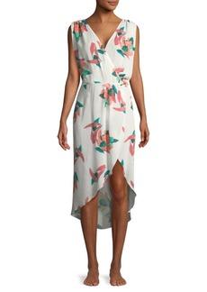 Vix Bluebell Floral Dress