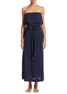 Vix Indigo Glenda Long Dress