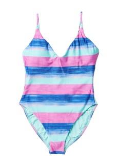 Vix Mani Bella Striped One-Piece Swimsuit