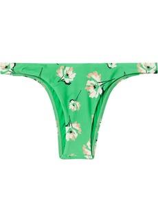 Vix Petals Amber Floral-print Bikini Briefs