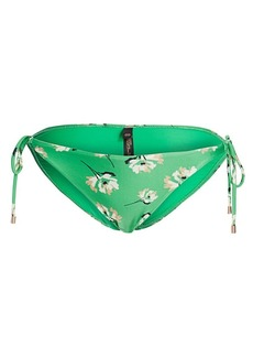 Vix Petals Side-Tie Bikini Bottom