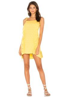 Vix Ruffle Mini Dress