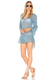 Vix Ruffle Tunic Dress