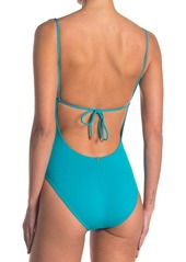 Vix Solid One-Piece Swimsuit