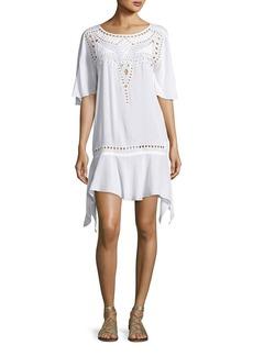 Vix Gabi Eyelet Coverup Dress
