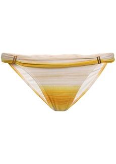 Vix Paula Hermanny Woman Dégradé Mid-rise Bikini Briefs Marigold
