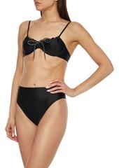 Vix Paula Hermanny Woman Gigi High-rise Bikini Briefs Black