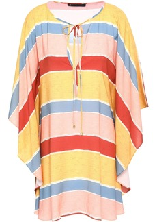 Vix Paula Hermanny Woman Guadalupe Striped Voile Kaftan Multicolor