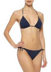 Vix Paula Hermanny Woman Lucy Low-rise Bikini Briefs Navy