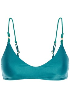 Vix Paula Hermanny Woman Luli Bikini Top Teal
