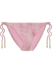Vix Paula Hermanny Woman Salar Shaye Low-rise Bikini Briefs Bubblegum