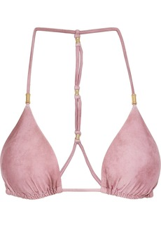Vix Paula Hermanny Woman Salar Shaye Triangle Bikini Top Bubblegum