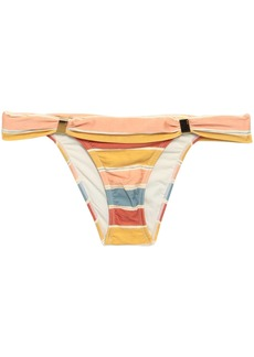 Vix Paula Hermanny Woman Striped Low-rise Bikini Briefs Multicolor