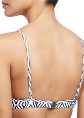 Vix Razi Printed Swim Top (Up to D Cup)