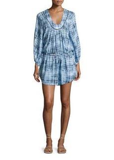 Vix Rustic Lara Swim Coverup Caftan Dress