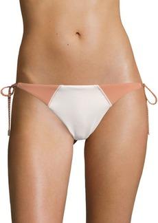 Vix Solid Betsey Side-Tie Bikini Bottom