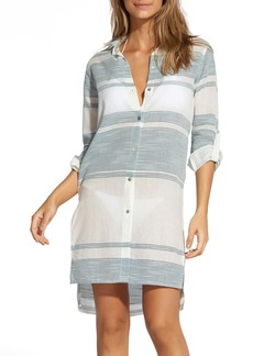ViX Swimwear Ada Cover-Up Shirtdress