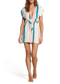 ViX Swimwear Chimera Amber Stripe Cover-Up Tunic