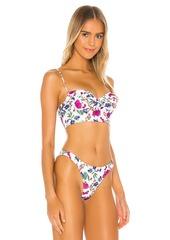 Vix Swimwear Corsage Bikini Top
